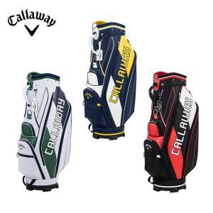 Callaway キャロウェイ ゴルフ メンズ キャディバッグ SPL-II 2021年モデル 9.5型 47インチ対応 3.3kg 5分割口枠 シューズイン 5121084 5121085 5121086|bespo