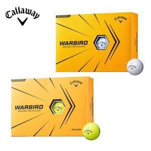 Callaway キャロウェイ ゴルフ ゴルフボール WARBIRD ウォーバード 2021年モデル ホワイト イエロー 1ダース 12個入り 12球 WARBIRDボール 日本正規品|bespo