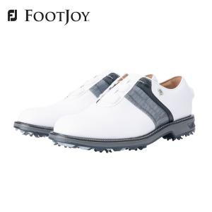 FOOTJOY フットジョイ ゴルフシューズ メンズ FJ ドライジョイズ プレミア パッカード ボア DRYJOYS PREMIERE PACKARD BOA 2021年モデル 53944 防水 人工皮革|bespo