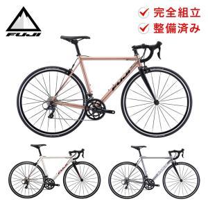 店頭受取のみ Fuji フジ 自転車 ロードバイク NAOMI ナオミ 2021年モデル 18段変速 700C 軽量 8.9kg 防犯登録可 通勤 通学 整備済み プレゼント付き|bespo