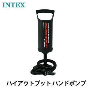 INTEX インテックス 空気入れ ポンプ ハイアウトプット ハンドポンプ Double Quick I Hand Pump 並行輸入品 68612|bespo
