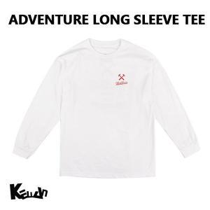 【20%OFFセール】 長袖Tシャツ アドベンチャー 冒険 ユニセックス メンズ レディース ケラン KELLAN 男性 女性 コットン100% K7FWLS06|bespo