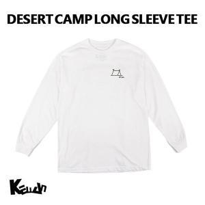 【20%OFFセール】 長袖Tシャツ 砂漠 キャンプ ユニセックス メンズ レディース ケラン KELLAN 男性 女性 コットン100% K7FWLS03|bespo