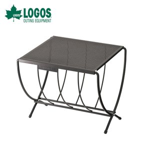 LOGOS ロゴス アウトドア キャンプ テーブル 薪 ラックテーブル 81064154 幅35cm...