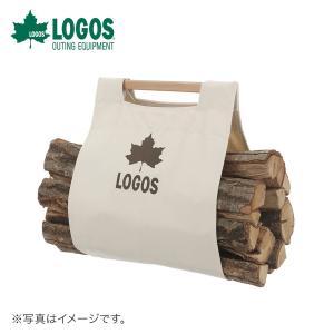 LOGOS ロゴス アウトドア キャンプ 薪ケース らくらく薪キャリー 81064157 幅89cm...