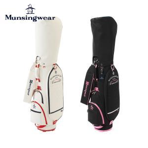 Munsingwear マンシングウェア ゴルフ レディース  キャディバッグ キャディーバッグ おしゃれ かわいい MQCRJJ01 21FW 21年モデル 8.5型 6分割 46インチ対応|bespo