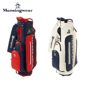 Munsingwear マンシングウェア ゴルフ レディース キャディーバッグ Earth Peteキャディバッグ MQCSJJ00 21FW 秋冬 2021年モデル 8.5型 5分割 46インチ対応|bespo