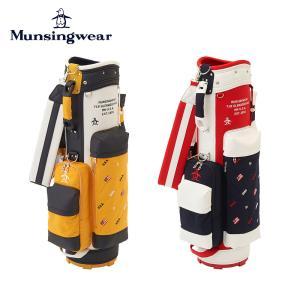 Munsingwear マンシングウェア ゴルフ レディース キャディバッグ MQCSJJ01 21FW 秋冬 2021年モデル 8.5型 6分割 46インチ キャディーバッグ|bespo