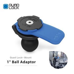 """Quad Lock クアッドロック 1インチ ボールアダプター 1"""" BALL ADAPTOR スマ..."""