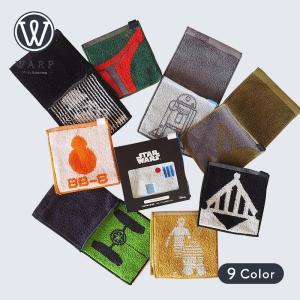 WARP ワープ タオル ハンドタオル ハーフ ミニタオル ハンカチ STAR WARS Half mini towel スターウォーズ 消臭 ギフト 父の日 誕生日 彼氏 彼 プレゼント|bespo