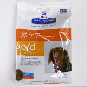 ヒルズプリスクリプションダイエット犬用c/dマルチケア尿ケアドライチキン小粒 3kg (動物用療法食)