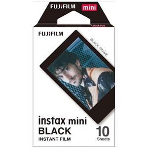 富士フイルム instax mini チェキ用フィルム ブラック