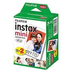 富士フイルム instax mini チェキ用フィルム 2パック 10枚入×2|ベスト電器PayPayモール店