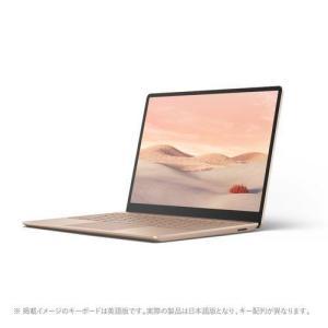 マイクロソフト Surface Laptop Go(サンドストーン) 12.4型 Corei5 8GB/128GBモデル THH-00045|ベスト電器PayPayモール店