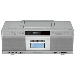 東芝 TY-AK2(S) (シルバー) Aurex CDラジオカセットレコーダー Bluetooth...