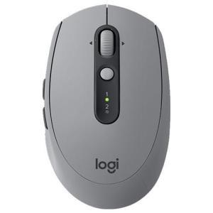 ロジクール M590MG(ミッドグレイ トーナル) 2.4GHz/Bluetooth オプティカルマウス 7ボタン