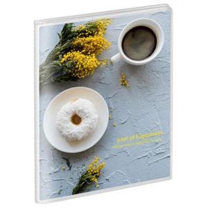 ハクバ APNP-L40-CFB (コーヒーブレイク) Pポケットアルバム NP Lサイズ 40枚収納の商品画像|ナビ