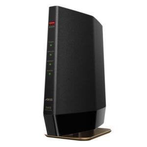 バッファロー WSR-5400AX6-MB(マットブラック) Wi-Fi 6 対応ルーター プレミア...