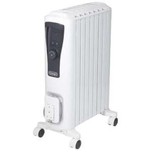 デロンギ RHJ65L0712(ピュアホワイト+ブラック) ユニカルドオイルヒーター 1200W|ベスト電器PayPayモール店