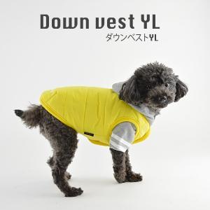 ダウンベストYL / 犬 服 犬の服 ドッグウェア 洋服 おしゃれ シンプル 冬 防寒 best-friends