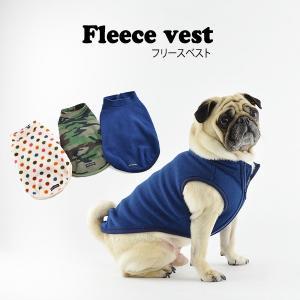 フリースベスト / 犬 服 犬の服 ドッグウェア 洋服 おしゃれ シンプル 冬 防寒 best-friends
