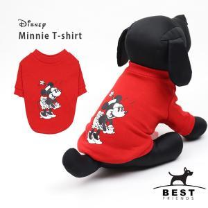 ミニーTS     犬 服 犬の服 ドッグウェア Tシャツ 綿100% ディズニー disney 犬|best-friends