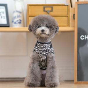 TOTO&ROY ツイード コートハーネス S SM M L犬 ハーネス 胴輪 小型犬 ウェア型ハーネス 洋服型ハーネス コート おしゃれ かわいい ドッグ 散歩 お出かけ best-friends