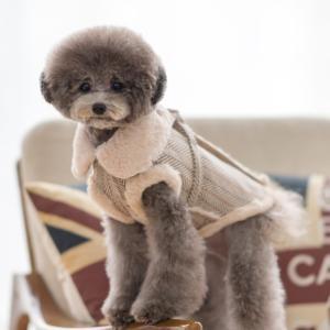 TOTO&ROY ヘリンボーンチェック ムスタン ハーネス S SM M L犬 ハーネス 胴輪 小型犬 ウェア型ハーネス 洋服型ハーネス コート おしゃれ かわいい ドッグ best-friends