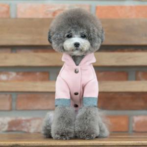 TOTO&ROY ネオプレンフード コート 2Color   S SM M L犬 服 コート 犬の服 ドッグウェア  小型犬 トイプードル  おしゃれ かわいい ドッグ  アウター best-friends