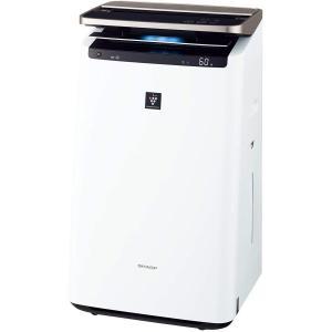 シャープ 加湿 空気清浄機 プラズマクラスター NEXT(50000) プレミアム 23畳 / 空気清浄 40畳 自動掃除 2018年モデル ホワイト KI-JP100-W|best-plice-online