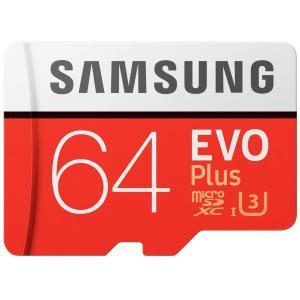 Samsung EVO Plus 64GB microSDXC UHS-I U3 100MB/s Full HD & 4K UHD Nintendo Switch 動作確認済 MB-MC64GA/ECO 国内正規保証品|best-plice-online