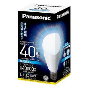 パナソニック LED電球 EVERLEDS 一般電球タイプ 全方向タイプ 6.6W  (昼光色相当) E26口金 電球40W形相当 485 lm LDA7DGZ40W|best-plice-online