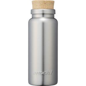 水筒 真空断熱 スクリュー式 マグ ボトル 0.36L コルク シルバー mosh! (モッシュ! ) DMCB360SV|best-plice-online