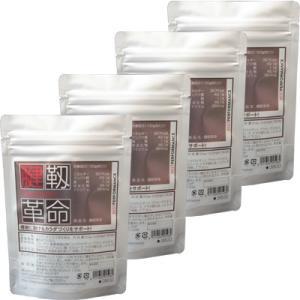 コラーゲン サプリ プラセンタ ヒアルロン酸 コンドロイチン配合 腱靭革命 4袋バリューパック