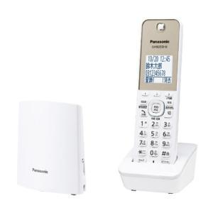 パナソニック VE-GZL40DL-W デジタルコードレス電話機 (子機1台)ホワイトの画像