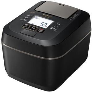 日立 RZ-W100DM K 圧力&スチームIHジャー炊飯器 ふっくら御膳 5.5合炊き フロストブ...