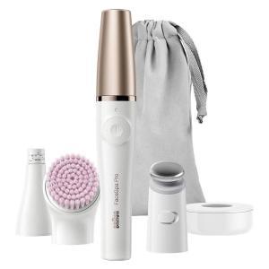 ブラウン SE912 ブラウンフェイス マイクロタッピングヘッド 洗顔ブラシ付 ホワイト|best-tecc