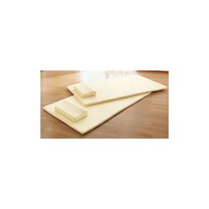 高反発マットレス&枕セット 〔4: ダブルサイズ2点セット(マット1枚・枕1個)〕 洗えるカバー付き 送料無料|best-value