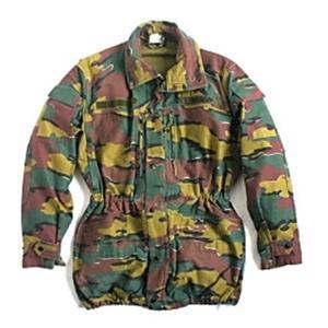 ベルギー軍放出 M90 カモフラージュジャケット 〔中古〕 《 M相当》 送料無料|best-value