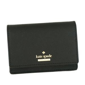 KATE SPADE(ケイトスペード) 二つ折り財布(小銭入れ付) PWRU5096B 1 BLACK 送料無料|best-value