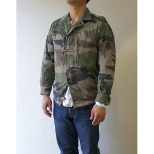フランス軍放出 F2ジャケット JJ004UNW L CCE カモフラージュ( 迷彩) 80( XS相当) 〔中古〕 送料無料|best-value