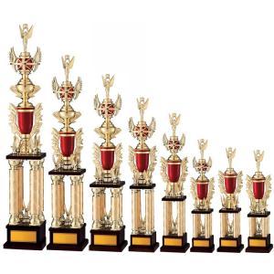 ●トロフィー【文字彫刻無料】選べる人形 4本柱でおすすめです! A512-Dサイズ●高さ620mm(トロフィー/優勝カップ販売/楽天/通販)|best
