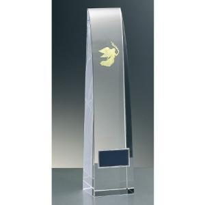 【40%OFF】 トロフィー・文字無料「激安」女神クリスタルガラス製トロフィー●高さ220mm|best
