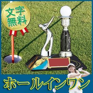 トロフィー【送料無料&文字無料】ゴルフホールインワン記念品●高さ195mm|best