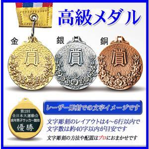メダル【文字彫刻無料】ハードケース入 お得な金属製メダル●直経46mm|best