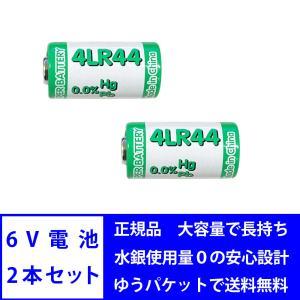 6V 電池 2本セット 4LR44 アルカリ電池 水銀 カドミウム 不使用 ROHS CE MSDS 基準達成|bestanswe