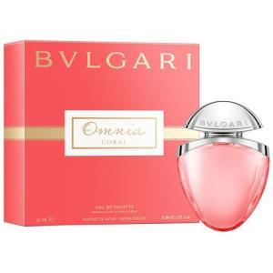 ブルガリ オムニア コーラル ジュエルチャーム EDT オードトワレ SP 25ml (香水) BVLGARI|bestbuy
