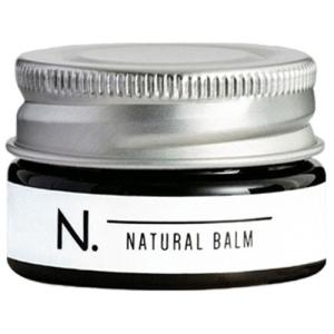 ナプラ N.(エヌドット) ナチュラルバームは、100%天然由来成分とシアバターでつくたれた、マルチ...