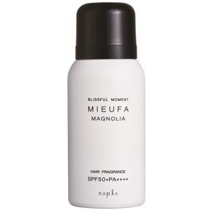 シンプルだけど上品、香るUVケア。  強い紫外線やパサつき、カラーの褪色などから髪をしっかりサポート...