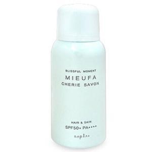 シンプルだけど上品をテーマに、香りとケアにこだわったUVケアミスト 紫外線から髪と肌をしっかり守る。...